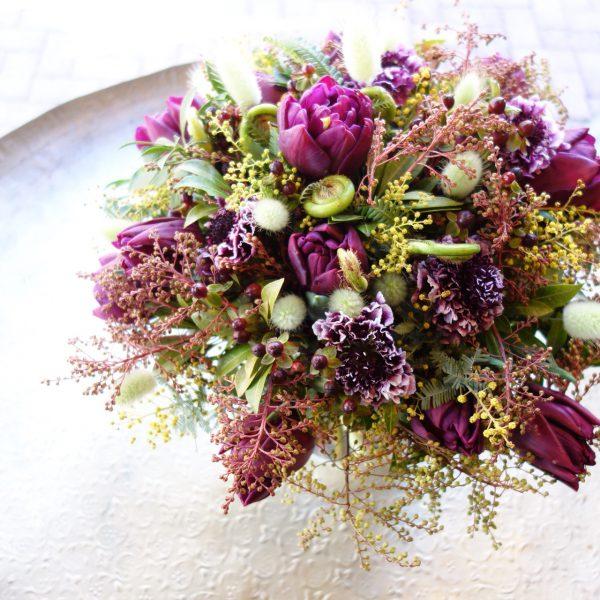 ビター&スウィートな花束